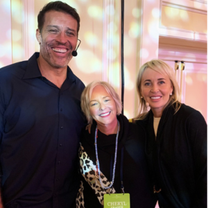 Dr. Cheryl, Tony Robbins and Sage