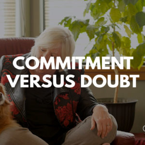 Commitment Vs. Doubt Title