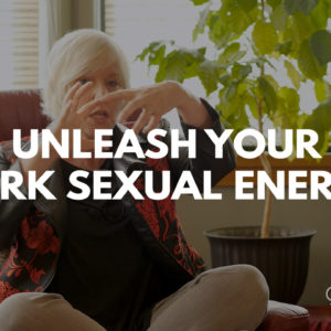 unleash your dark energy with Dr. Cheryl title