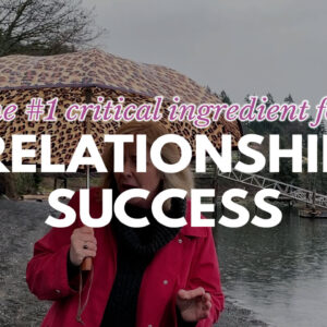 critical ingredient for relationship success title